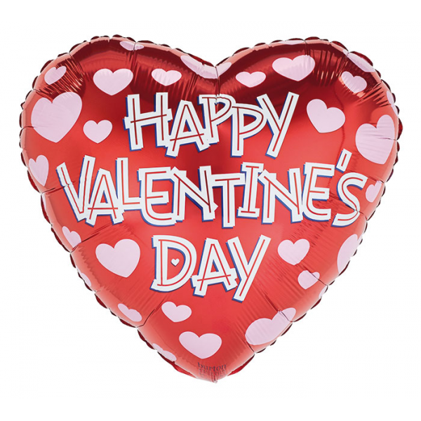 Reno & Sparks Flower Delivery | Sparks Florist® - Reno Happy Valentine's Day Mylar Balloon