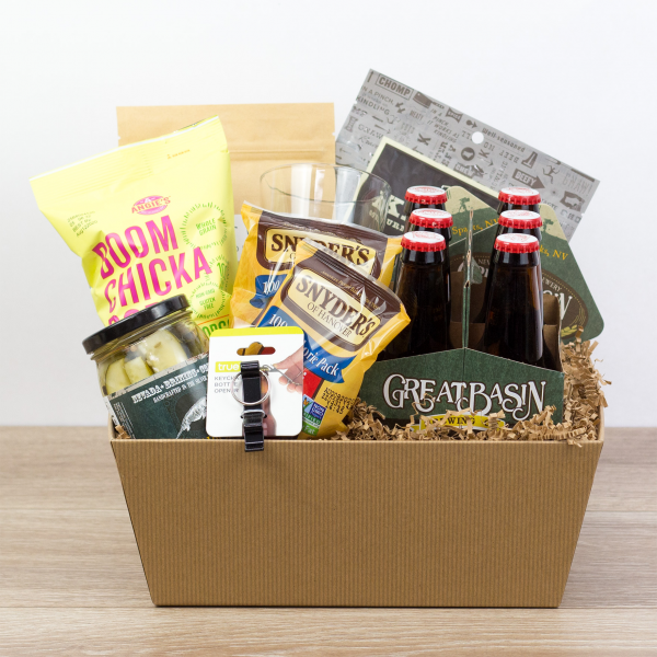 Dude Snacks Gift Crate