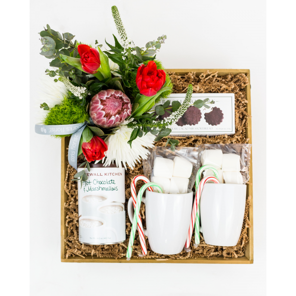 Hot Cocoa Gift Crate - Large