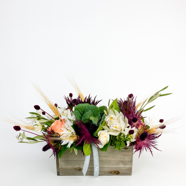 Bordeaux Luxe Centerpiece<br><i>Candles optional</i></br>