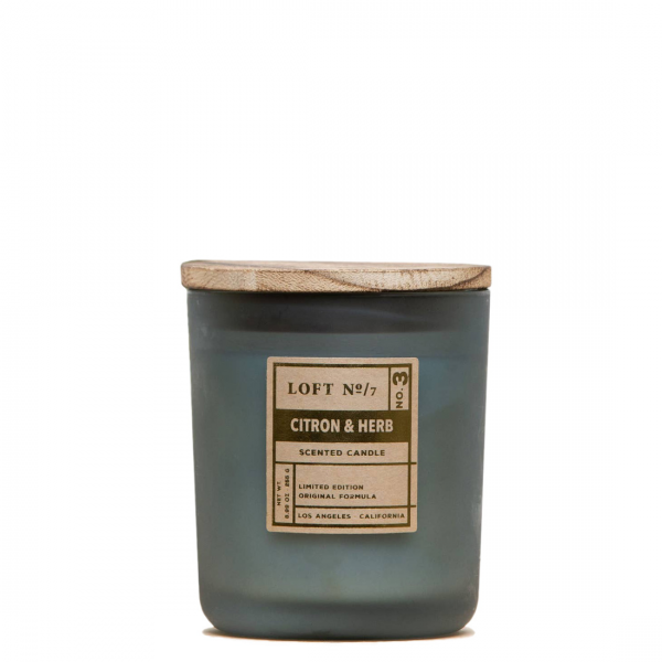 Citron Herb Soy Candle