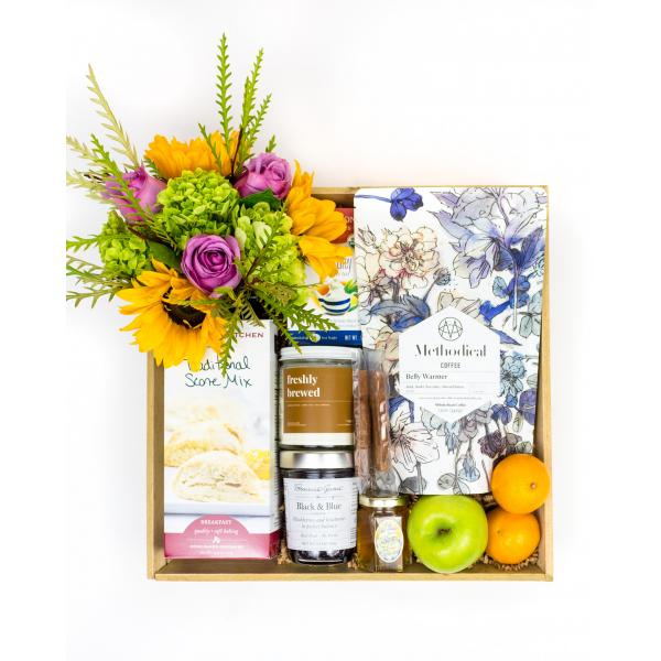 Breakfast In Bed Gift Crate