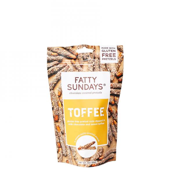 Fatty Sundays Toffee Chocolate Pretzels