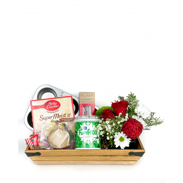 Christmas Baking Gift Crate
