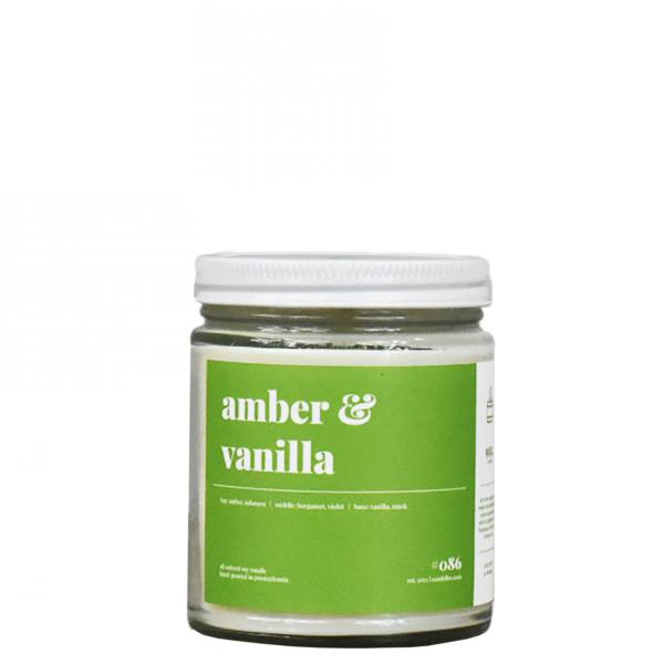 Amber Vanilla Soy Candle
