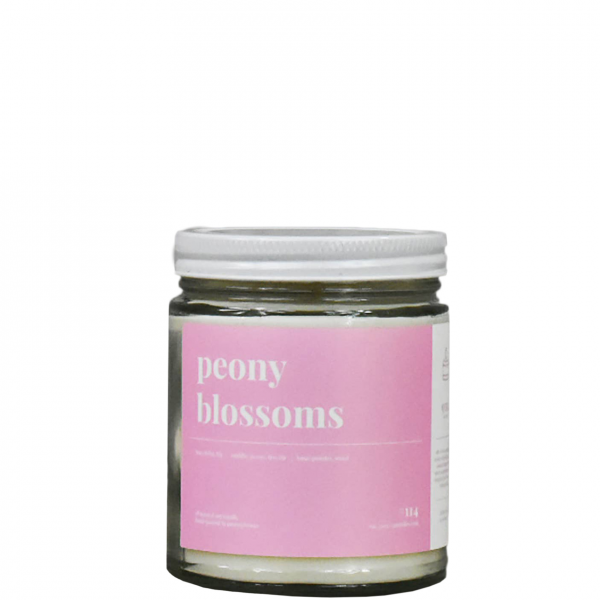 Peony Blossoms Soy Candle