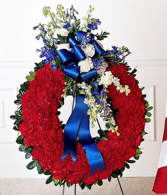 All-American Tribute Standing Wreath