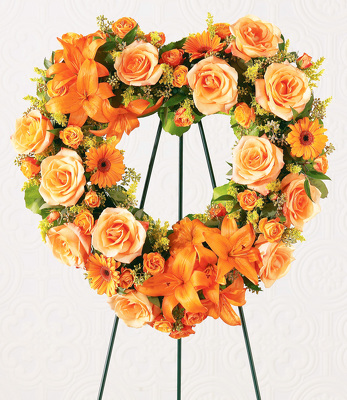 Reno & Sparks Flower Delivery | Sparks Florist® - Sparks Hearts Eternal Wreath