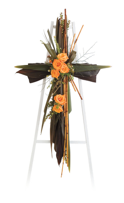 Reno & Sparks Flower Delivery | Sparks Florist® - Sparks Love Of The Lord Standing Cross