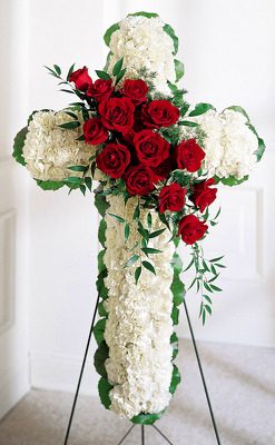 Reno & Sparks Flower Delivery | Sparks Florist® - Sparks My Sweet Lord Standing Cross