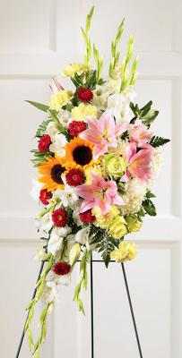 Reno & Sparks Flower Delivery | Sparks Florist® - Sparks Precious Standing Spray