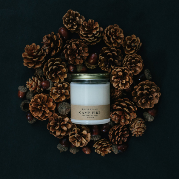 Birch & Main Campfire Soy Candle