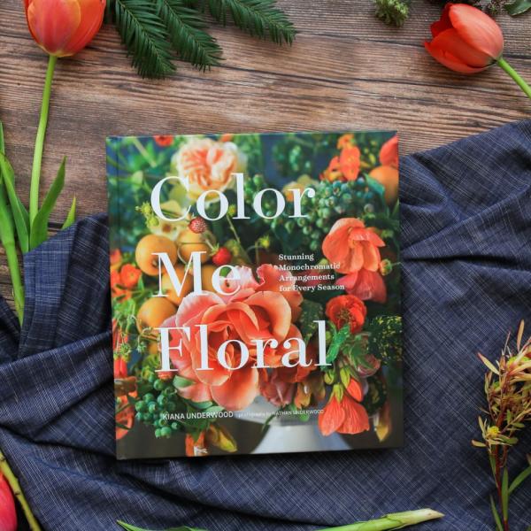 Color Me Floral Book