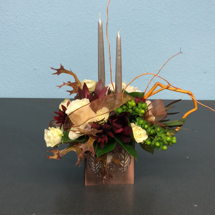copperleaf centerpiece