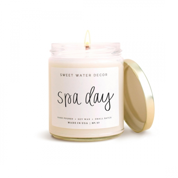 Sweet Water Spa Day Candle