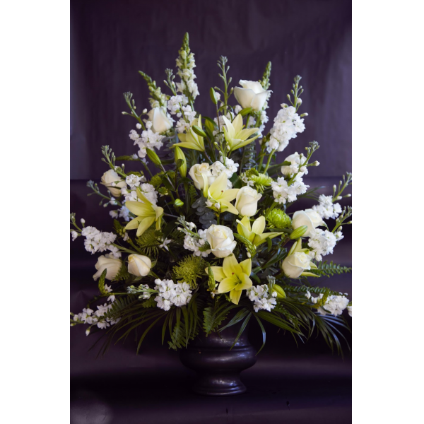 Peaceful Garden Urn Arrangement