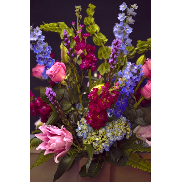 A Really Colorful Arrangement