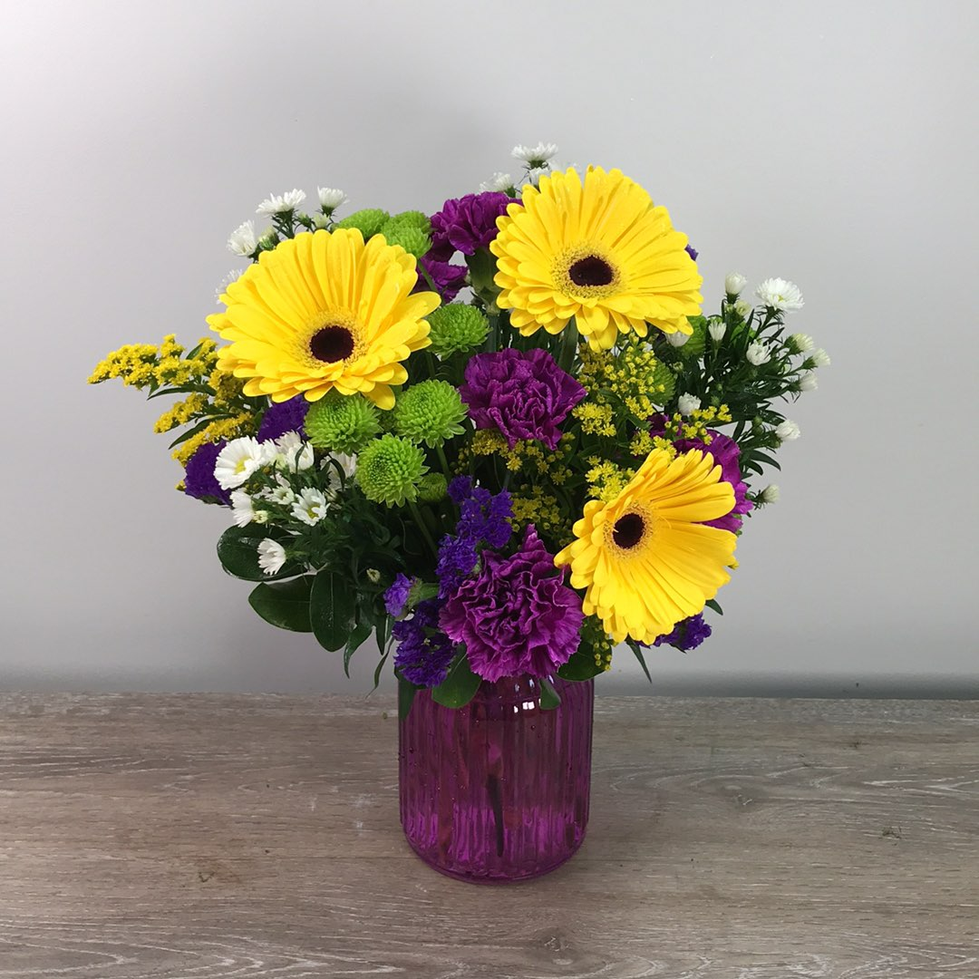 Better Homes and Gardens Purple Bouquet