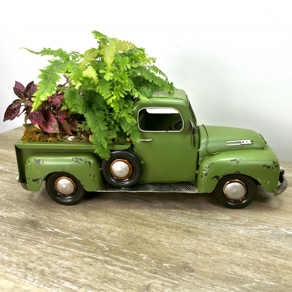 George's Antique Truck Planter