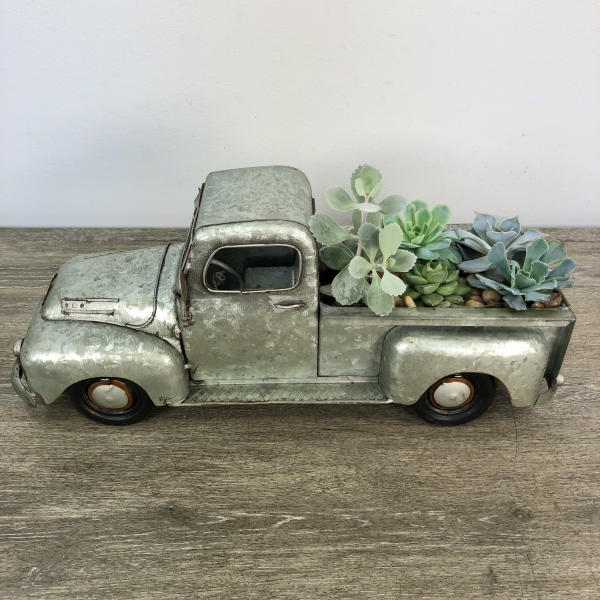 George's Antique Truck Succulent Planter