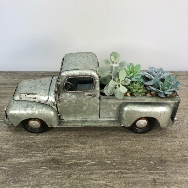 George's Antique Truck Succulent Planter