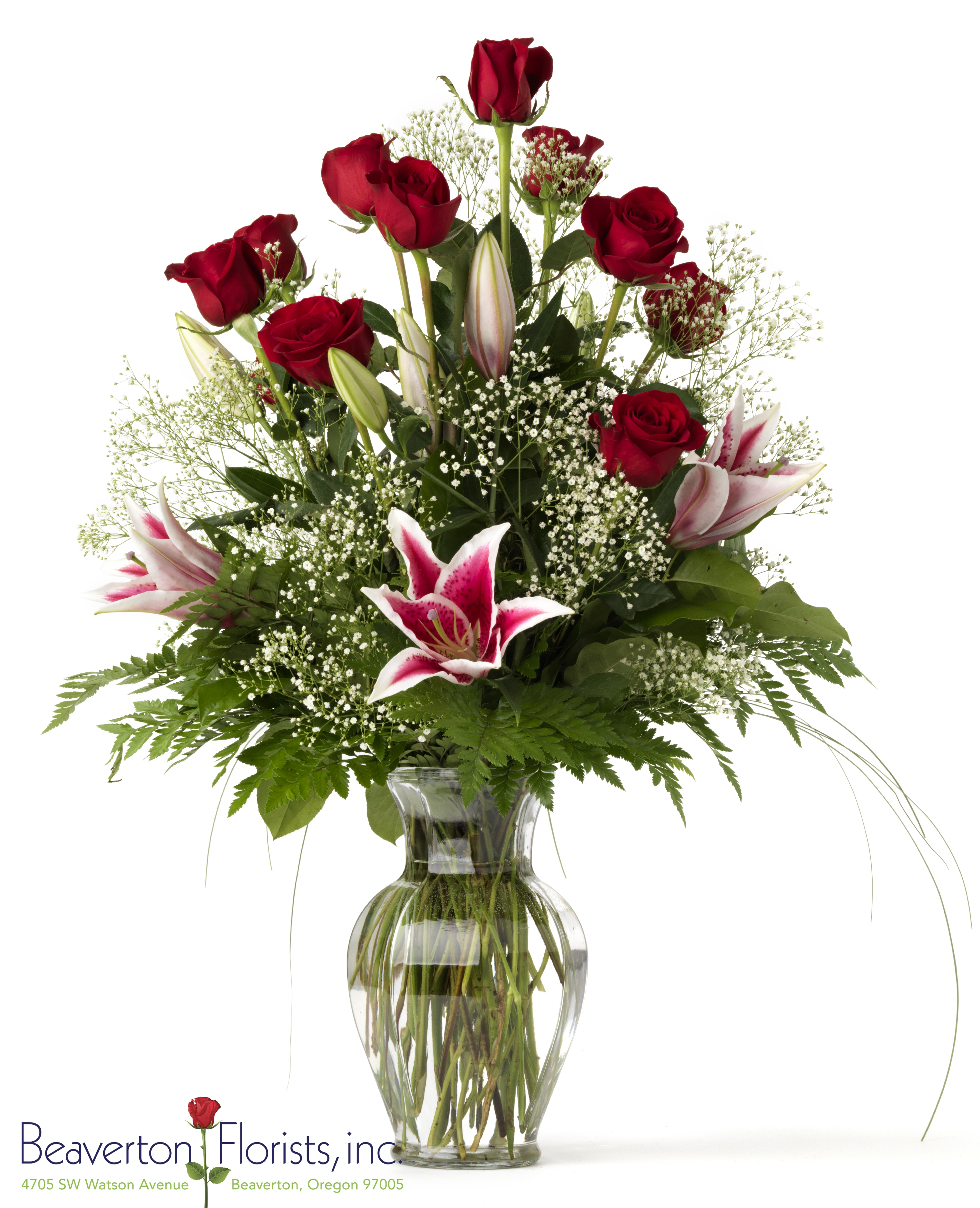 The Starlight Rose Bouquet As Shown