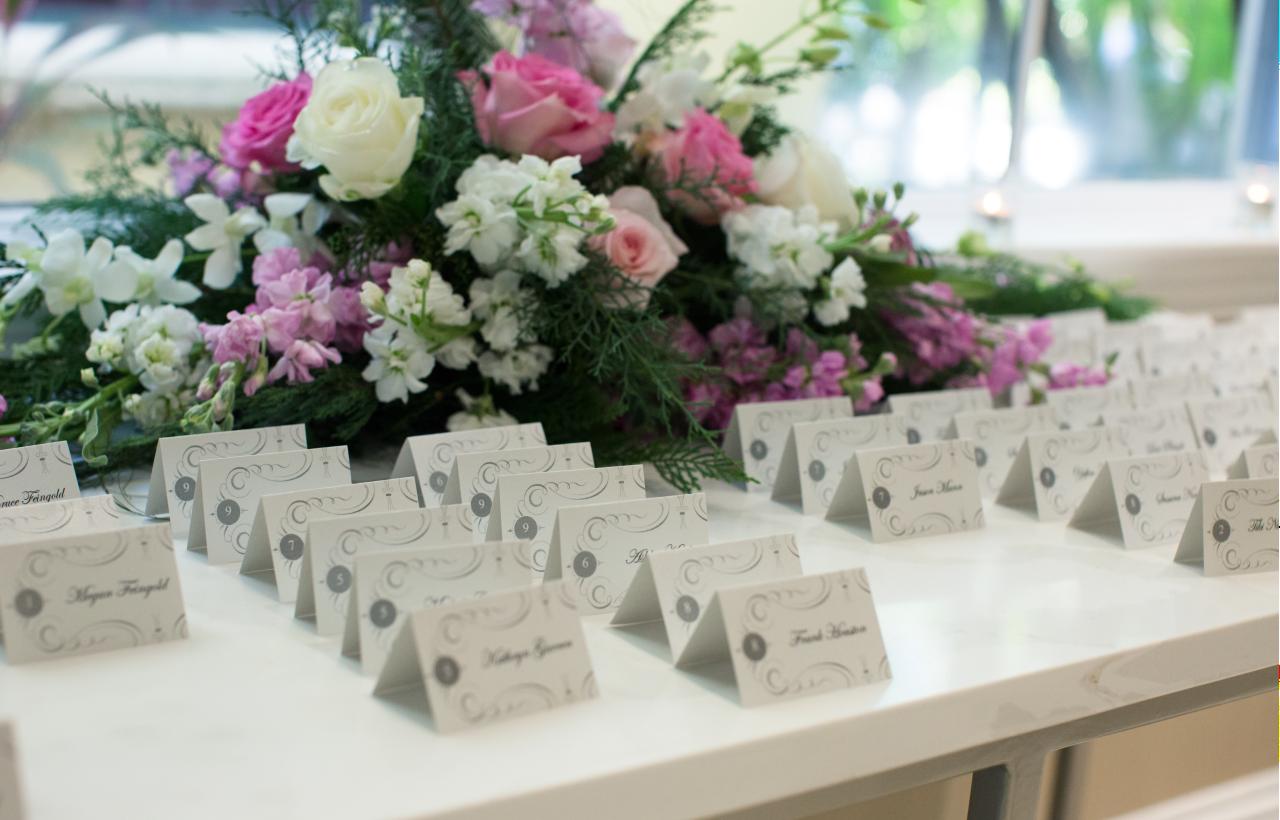 Wedding Seat Placards