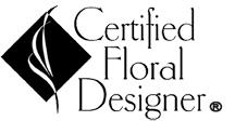 Certified Floral Designer Logo