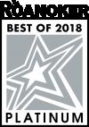 Roanoker Best of 2018 Platinum