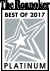 Roanoker Best of 2017 Platinum
