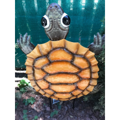 Welcome to Fremont Flowers / Navlets flowers porch and patio online store.  We are adding our garden area late spring early summer.  Great gifts for the yard, porch and patio.  Pictured is our turtle plaque.  This enameled garden accent also comes in a ladybug style.