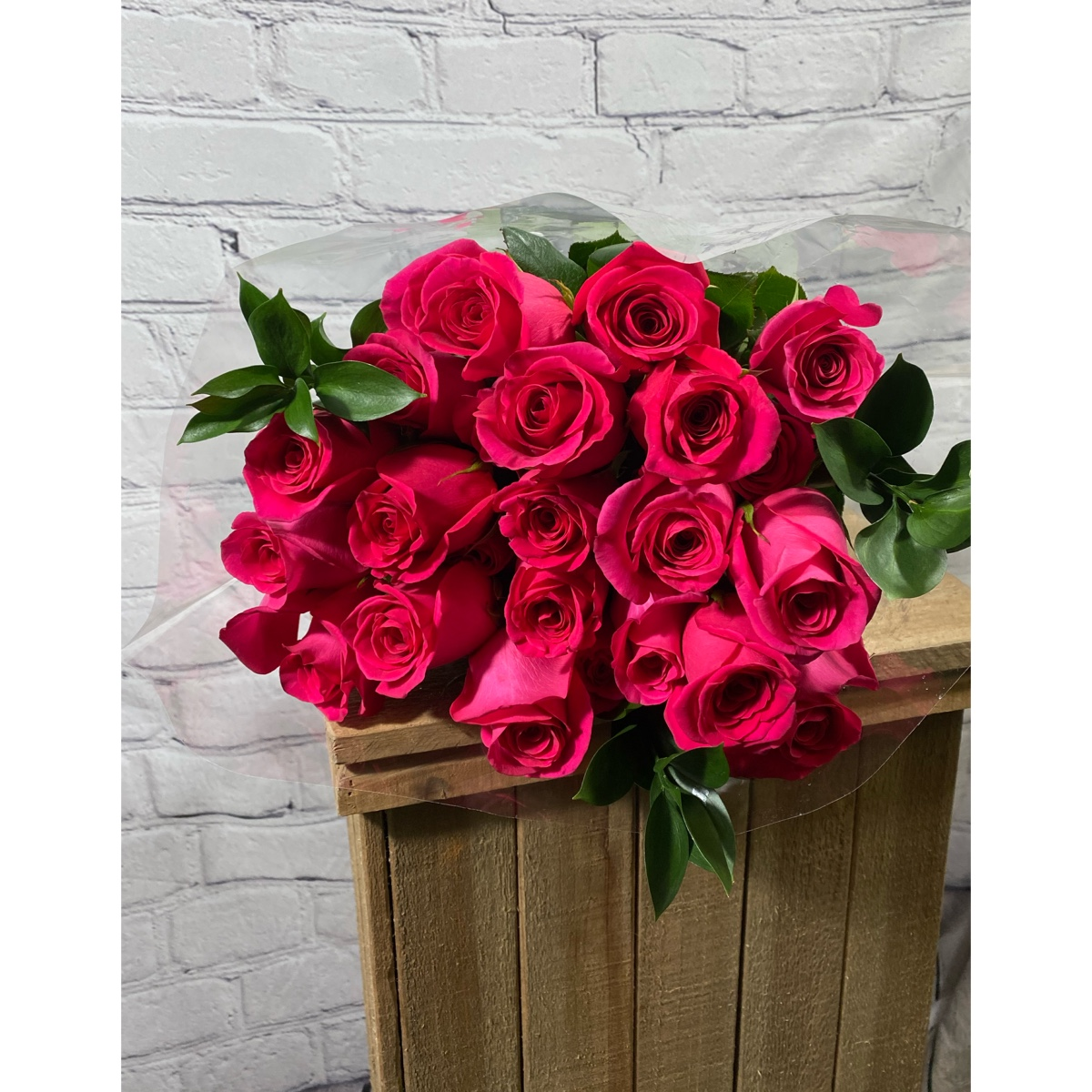 2 Dozen Fresh Cut Roses This weeks Special is Pink Floyd. Vase Ready Bouquet