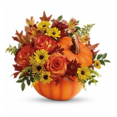 Warm Fall Wishes - As Shown