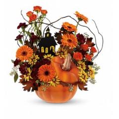 Haunted House Bouquet - Premium