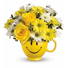 Be Happy Bouquet - As Shown
