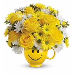 Be Happy Bouquet - Premium