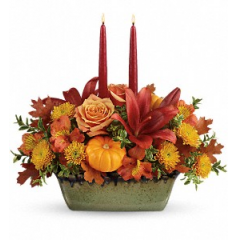 Country Oven Centerpiece - As Shown