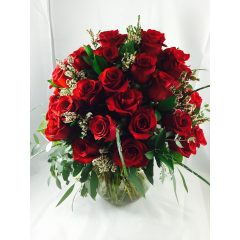 The Ultimate Rose Bouquet - As Shown