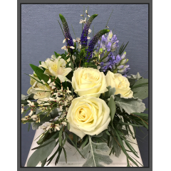 Good Vibes Spa Day Bouquet - Shown with$40GC