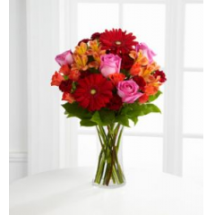 This Arrangement Is A Burst Of Color, Perfect For That Colorful Person In Your Life!