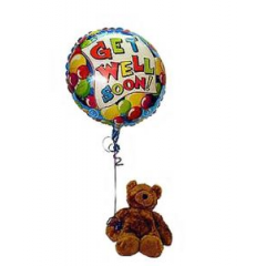 Pick the perfect size plush bear to add to a gift or be the gift! Make their special day beary special! **Bear and balloon may vary depending upon availability**