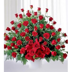 A Exquisite Bouquet Of Regal Red Roses. A Beautiful Expression Of Your Love.