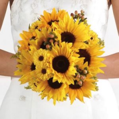 Here Comes The Sun Is A Fitting Description For This Bright And Beautiful Bouquet.