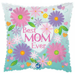 Add a Mother's Day Mylar to any of the Mother's Day arrangements to make your surprise even bigger! Styles may vary and the designers will choose a style that best coordinates with your arrangement!