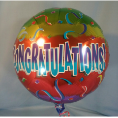 Colors and styles of balloons may vary