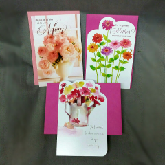 """Mother's Day Greeting cards is another special way of saying """"I love you Mom"""""""