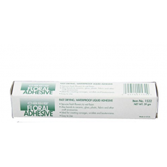 A tube of floral Adhesive