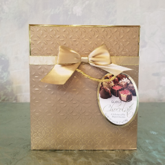Surprise that special someone with a beautiful collection of fine Belgian Chocolates, beautifully wrapped to make their day!
