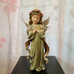 "A beautiful keepsake angel to add to any basket garden....Approx 12 1/2""H"