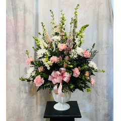 The Ideal Bouquet For Someone Who Loved Pink. **Flowers may vary depending upon availability**